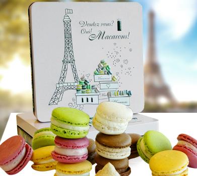 Macarons-Präsentdose