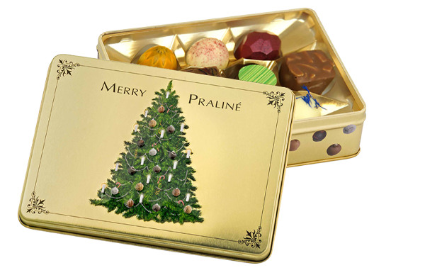 "Präsentdose ""Merry Praliné"""